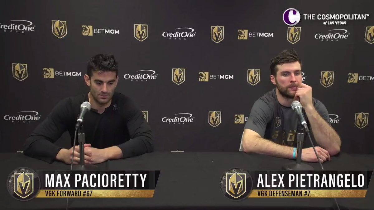@GoldenKnights's photo on pacioretty