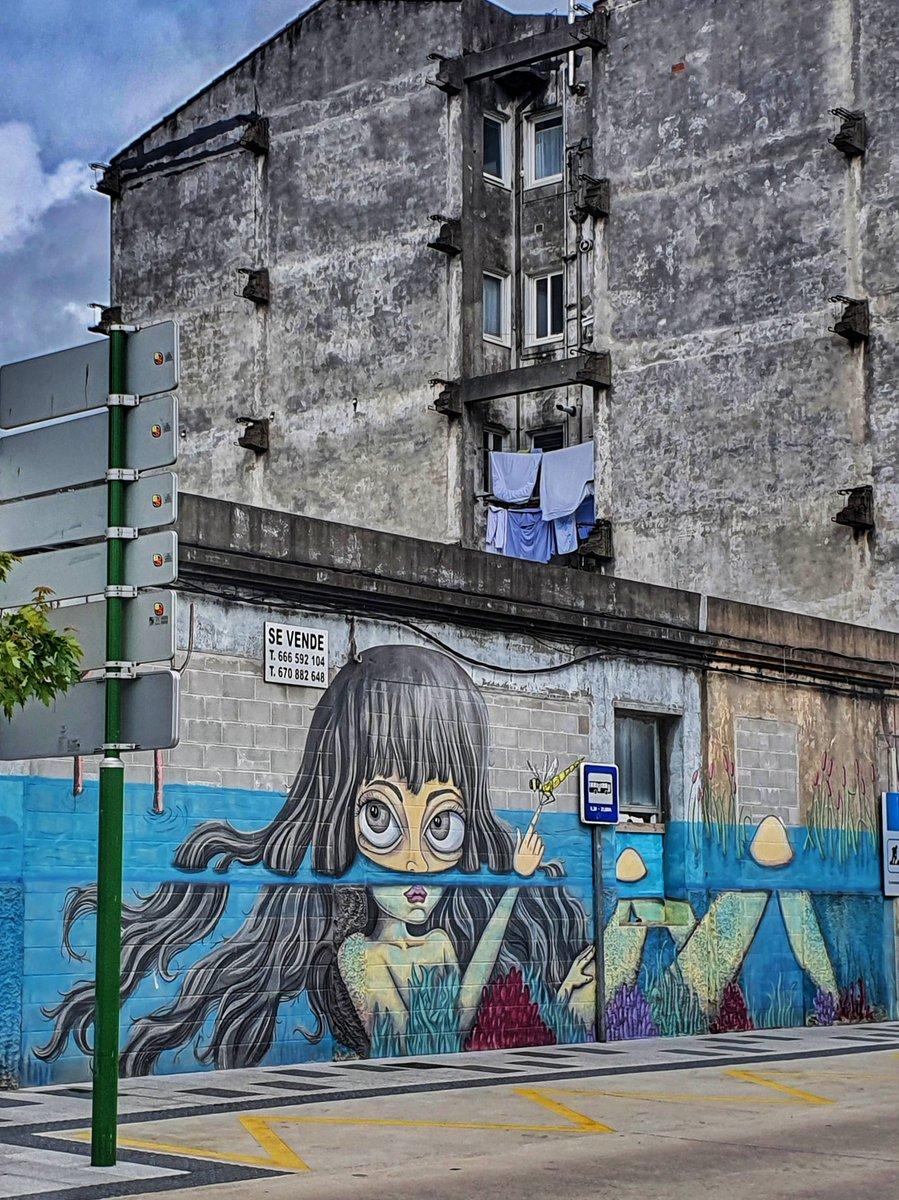 Bo día #Carballo #derrubandomurosconpintura #rexenerafest #streetart #art #graffiti #urbanart #streetphotography #graffitiart #artist #photooftheday #urban #streetstyle #instagood #artwork #travel #painting #mural #picoftheday #wallart #arte #contemporaryart #streetarteverywhere