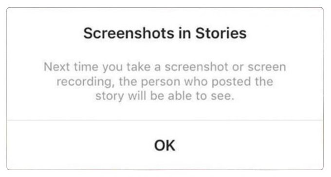 You might find it a relief if you know when and where exactly does the #Instagram notify others that you have screenshot them. Instagram send screenshot notifications in any of the following cases:😁👇🔥  #instagramdown #instagramers #instadaily #instagood