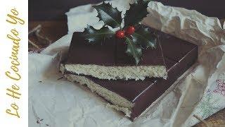 ¡Receta Navideña! Cómo hacer Turrón de Coco y #Chocolate #Recipe #Food #Navidad
