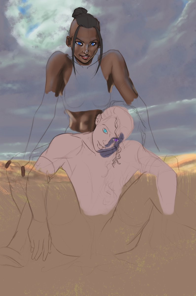 It seems I'm Still in #beauyasha hype mode today… #WIP #CriticalRole