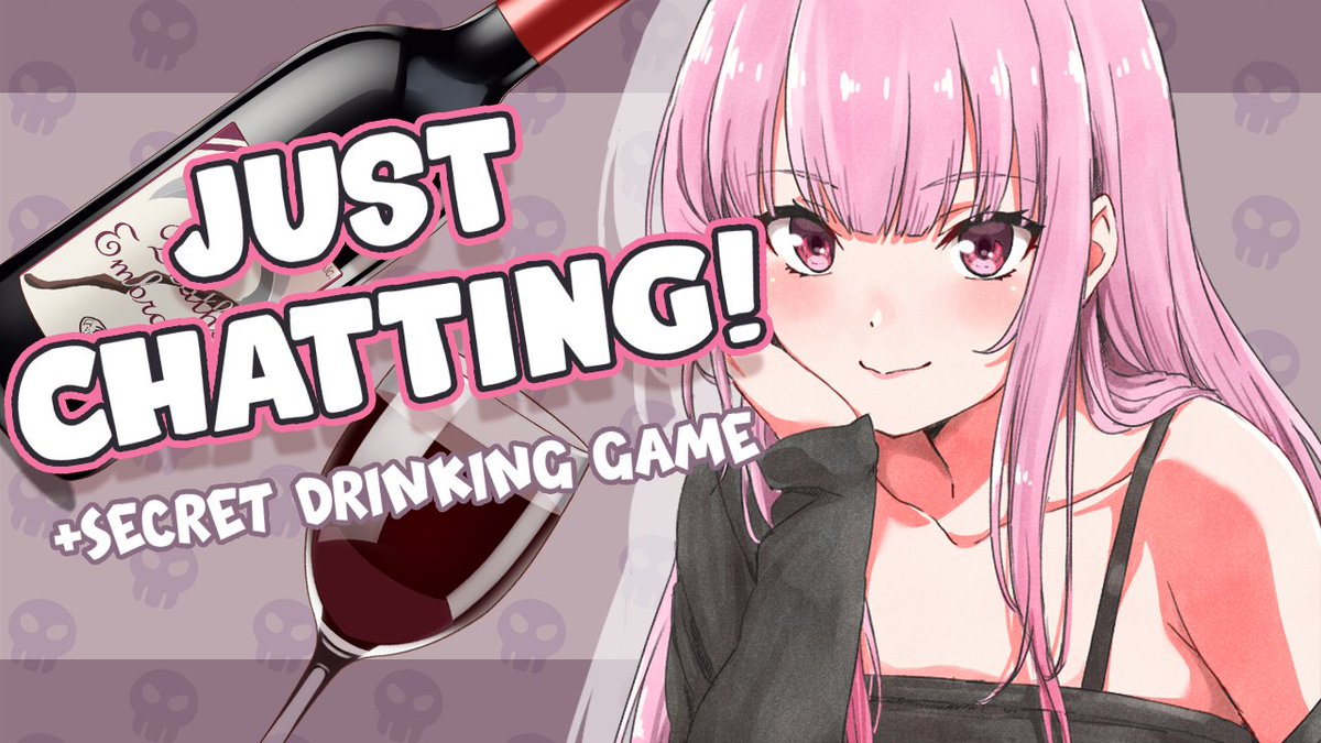 ♡✿{{ TONIGHTS STREAM }}✿♡ Just some chatting, just some sipping, just some Getting Tipsy from supers!! The rules this time around are... interesting. :} JUST CHATTING + Secret Drinking Game youtu.be/8kyxf8Ejpb8 24:00 JST // 7:00am PST