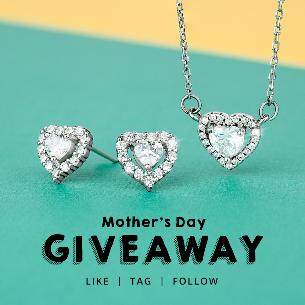 WIN this beautiful jewellery set ❤ ✔ Retweet this post  ✔ Tell us an embarrassing moment with your Mum ❤  *We have posted this competition across all our social channels and ONE winner will be picked at random from them all. Competition ends 8th of March at 12pm. GOOD LUCK