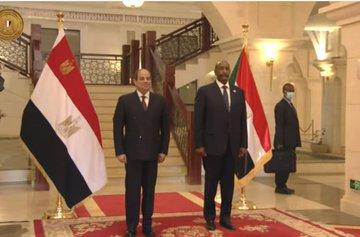 رئيس مجلس السيادة الانتقالي السوداني يستقبل السيسي البيان القارئ دائما