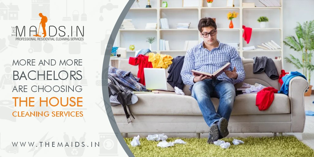 Are you a Bachelor living alone? Or living away from home?   We are just a call away!  Call the Professional @ 9817510510 or visit:   #officecleaning #homecleaning #professionalcleaningservices #cleanindia  #themaidsin #homecleaninghacks #homecleaningtips