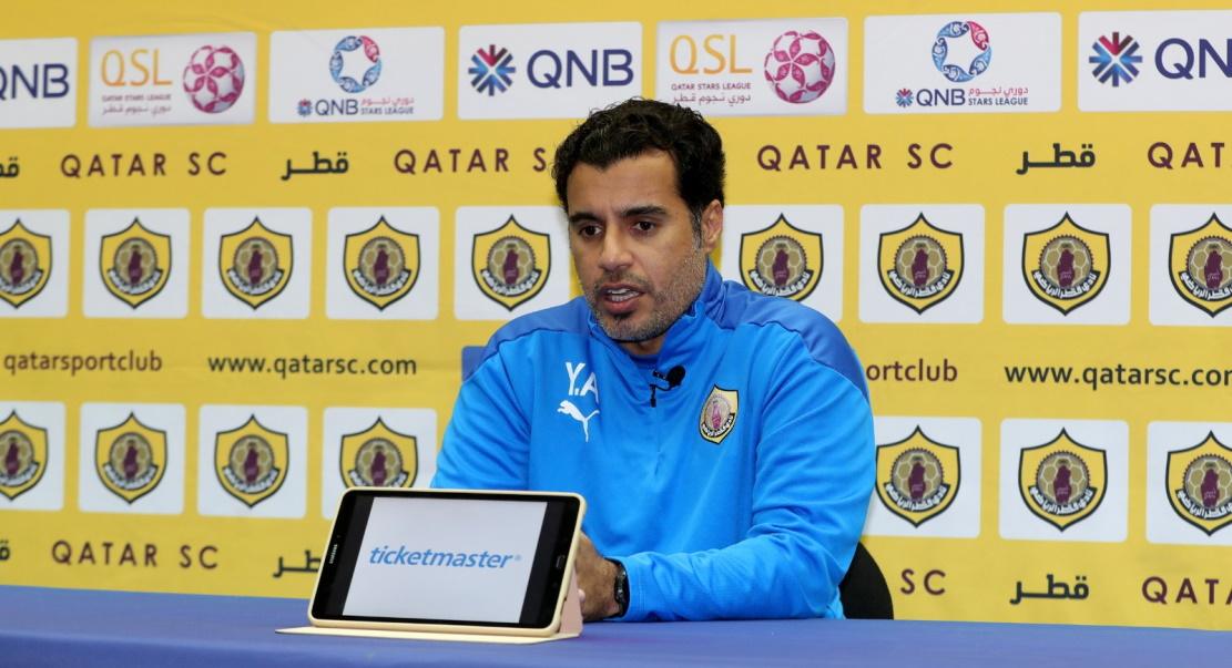 يونس علي مدرب نادي قطر مواجهة فريق العربي في الأسبوع الثامن عشر للدوري ستكون صعبة جدا وهدفنا النقاط الثلاث قطر