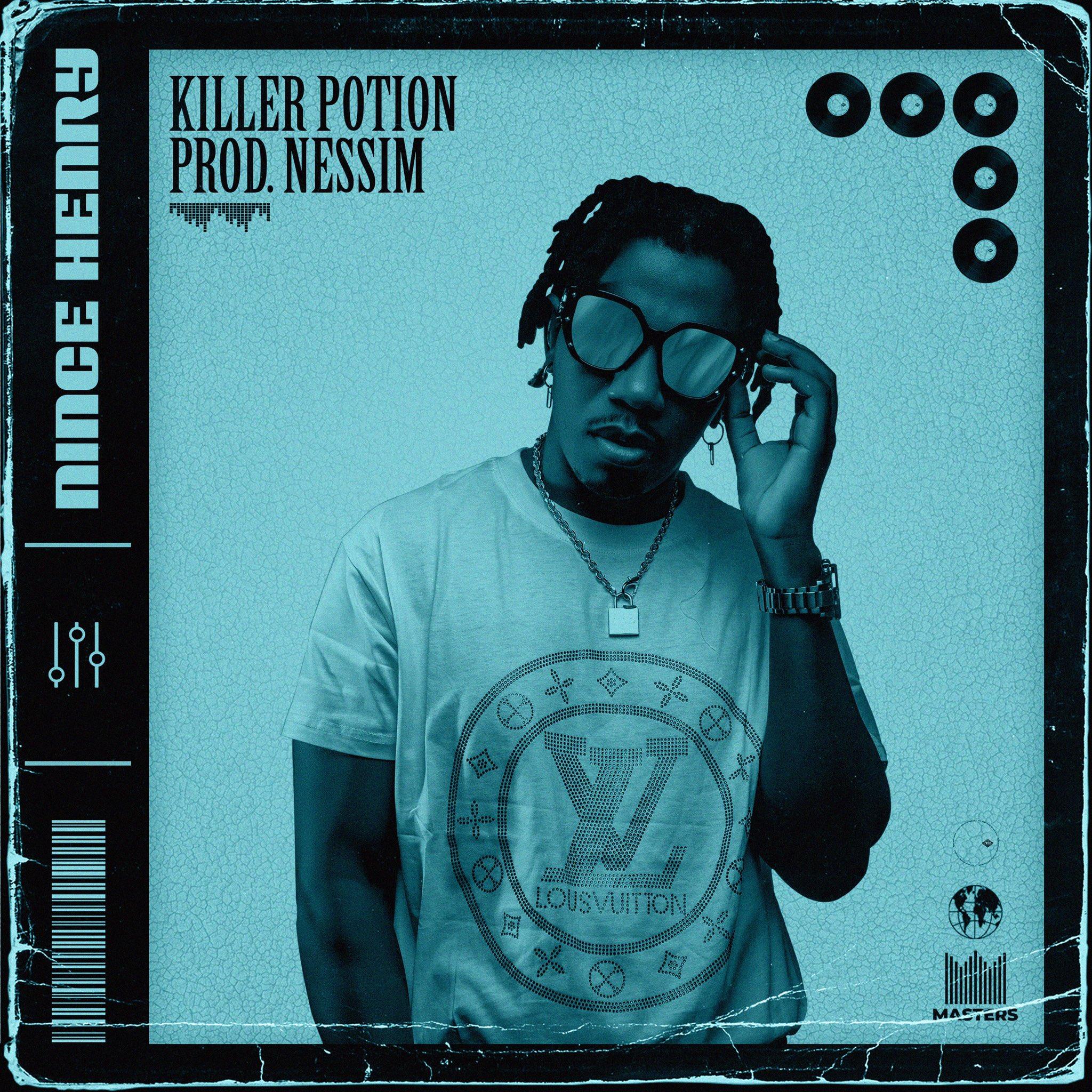 'Killer Potion' song artwork (Picture: Nince Henry, Twitter)