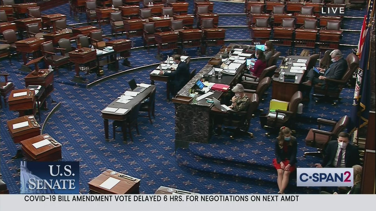 The Senate floor during a Vote-a-Rama at 6am is the absolute #WorstPlaceForSex