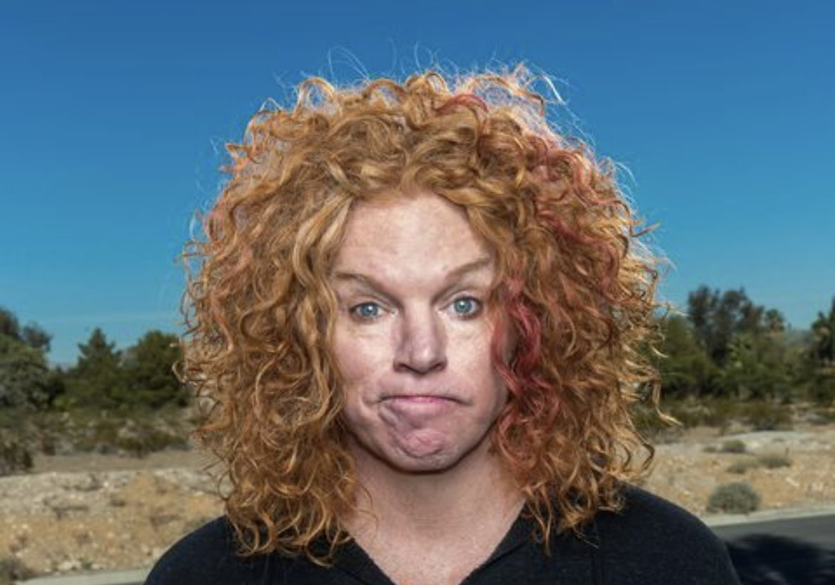 Anywhere with carrot top  #WorstPlaceForSex