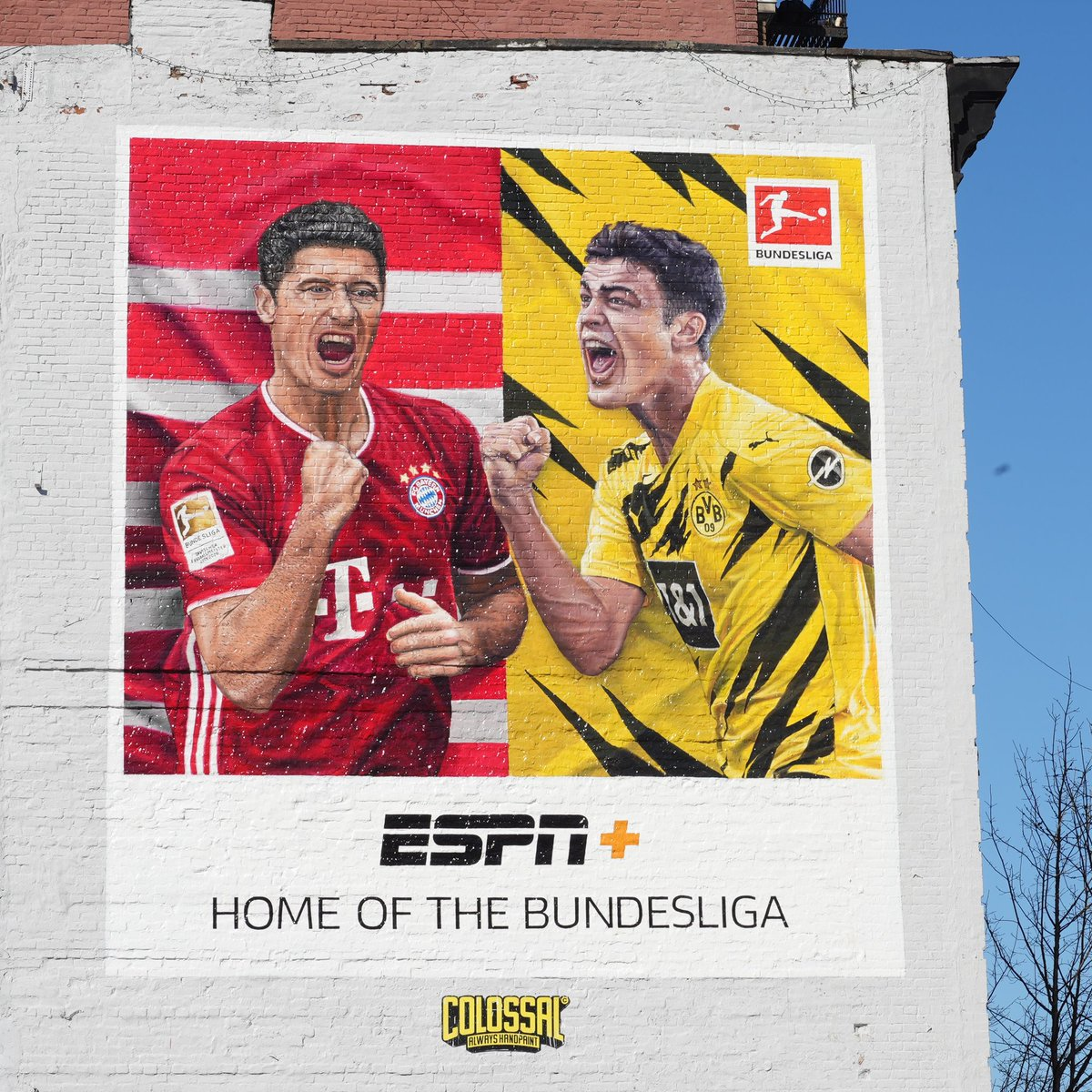 Murals in Brooklyn and a free-to-air Der Klassiker game on ABC. @FCBayernUS and @Bundesliga_EN have come a long way in this market, and we're still just getting started. 🙌
