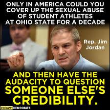 @essenviews #JimJordanKnew #JimJordanResign #GymJordan #GOPSeditiousTraitors #GOPDomesticTerrorists #GOPTraitorsToDemocracy #UnfitForOffice #TraitorRepublicans #GOPCorrupt #GOPTraitors #GOPComplicitTraitors #RepublicansAreTheProblem #GOPBetrayedAmerica #GOPCowards #GOPHypocrisy #VoteThemOut