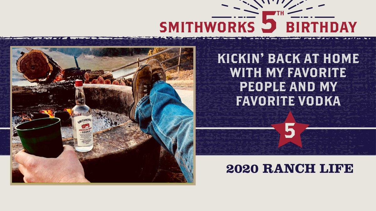 First order of business.. @SmithworksVodka