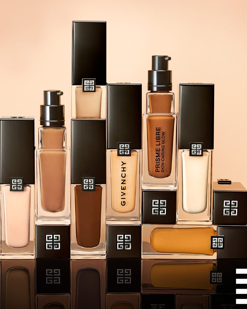 Meet spring's best friend—the new Givenchy Prisme Libre Skin-Caring Glow Foundation provides up to 12 hours of glowy, buildable coverage while leaving skin hydrated, smooth, and radiant ✨ Only at Sephora.