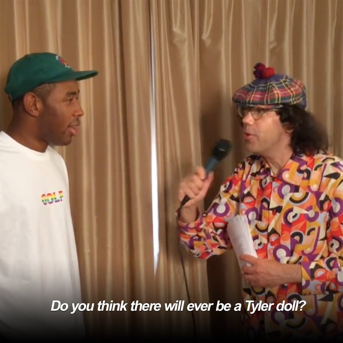 RT @PigsAndPlans: Why there might never be a Tyler, the Creator doll. https://t.co/6SncNsYiky