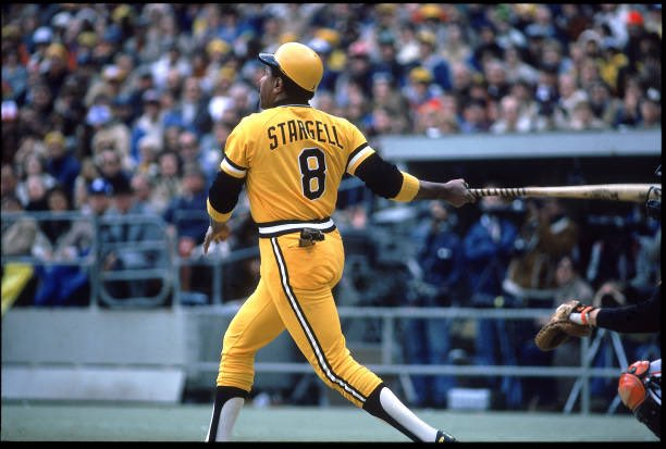 Born #OTD 1940,One The All Time Great Pittsburgh Pirates Willie Stargell. #Pittsburgh #Pirates #MLB #1960s #1970s #HOF