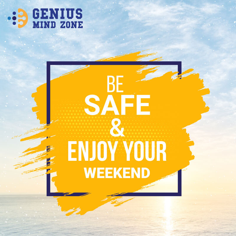 The Weekend is a Blessing. Thank you, God, for getting us through this week. Learn from yesterday, Live In Today, Hope for Tomorrow. Be Safe and Enjoy your Weekend.  #geniusmindzone #GMZ #weekendvibes #weekendfun #saturday #SaturdayThoughts #bhfyp #weekend #softwarehouse #IT