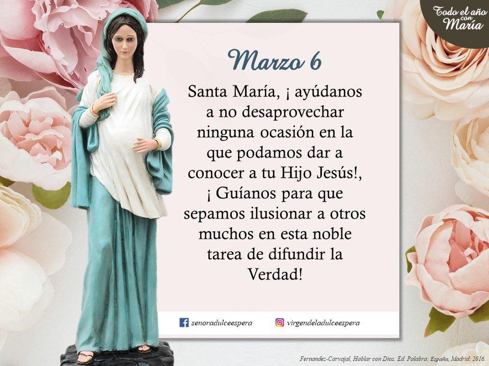Nuestra Señora de la Dulce Espera: por todas las embarazadas y el don de la vida, ruega por nosotros  #matrimonios #familias #oración por las #embarazadas