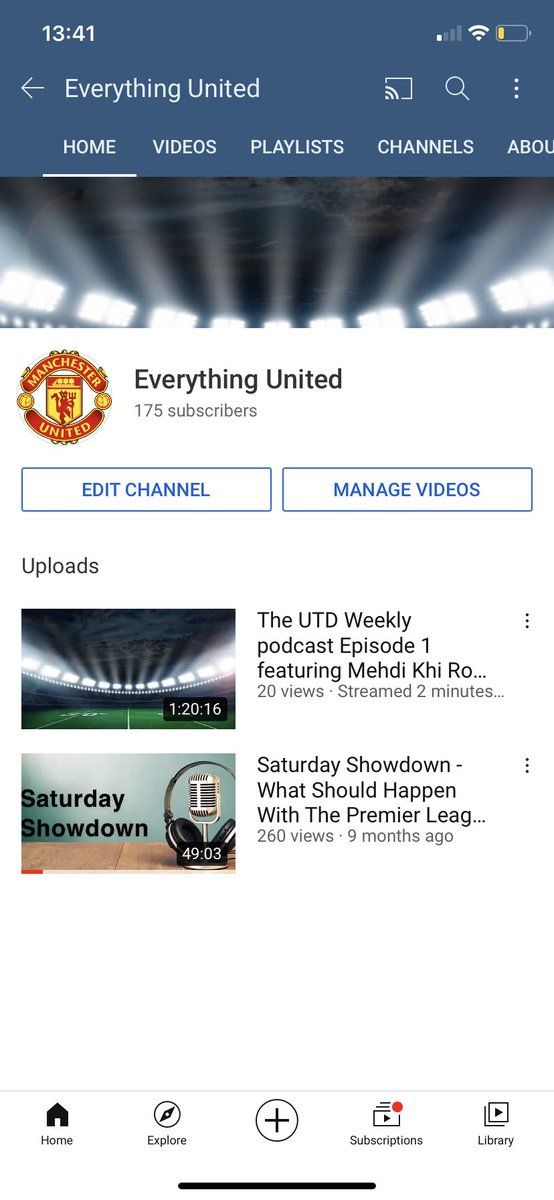 Check out the latest video on the channel featuring @MKUTD_ @KhiryHopkins @RoryTooCool @44BulldogMD talking about important topics such as #pogba Contract and #OleOut