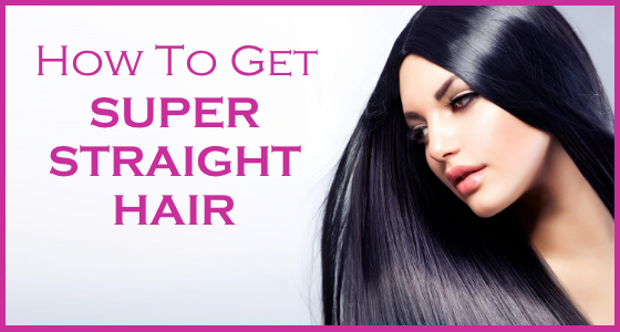 Get rid of that frizz. make your hair #superstraight