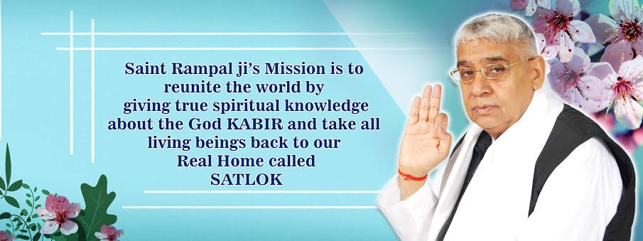#FridayThoughts Baakhabar saint is saint Rampal ji. 💙💙