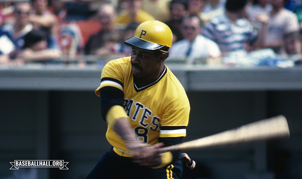 Willie Stargell won the 1979 National League MVP, the NLCS MVP and the World Series MVP – and that may not even have been his best season in the big leagues. The @Pirates captain was born #OTD in 1940. (Rich Pilling/National Baseball Hall of Fame and Museum)