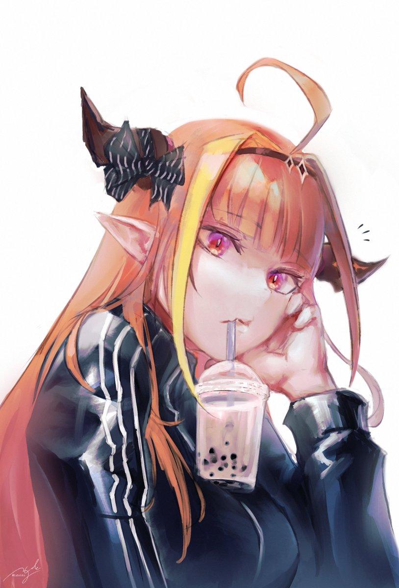 Booba tea #みかじ絵