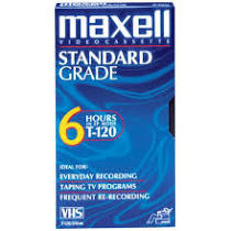 @AlphaOmegaSin I was most loyal to Maxell brand, also had WWF PPV and weekly shows as well as some #Toonami