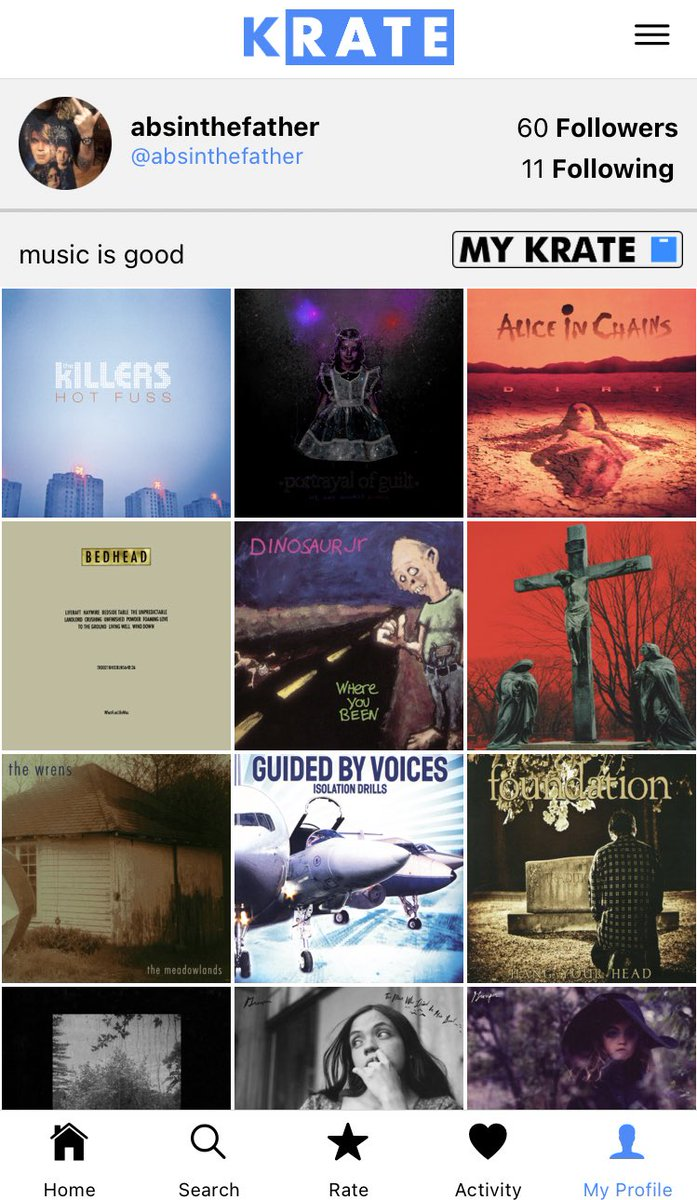 i'm a professional music writer (post albums i think are 5-stars-worthy on krate)