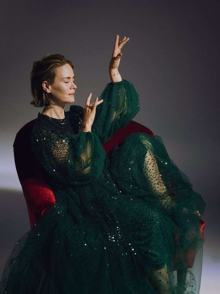 RT @paulsonpeach: pov: you just touched sarah paulson. https://t.co/1lRPJbK4RK