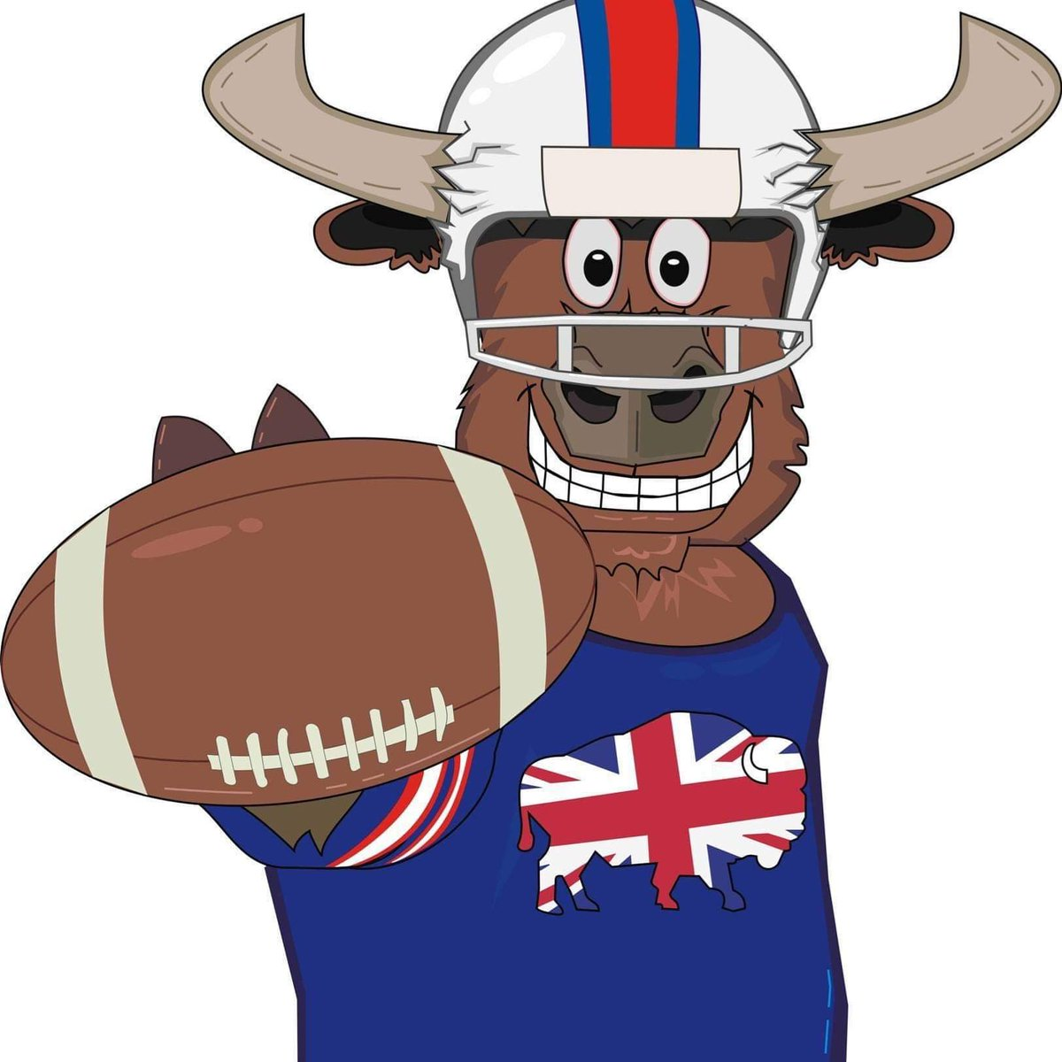Gentleman, Ladies and Kids alike, we would like to introduce the newest UK Bills addition, Ralph the Buffalo. #BillsMafia #UKBills #GoBills