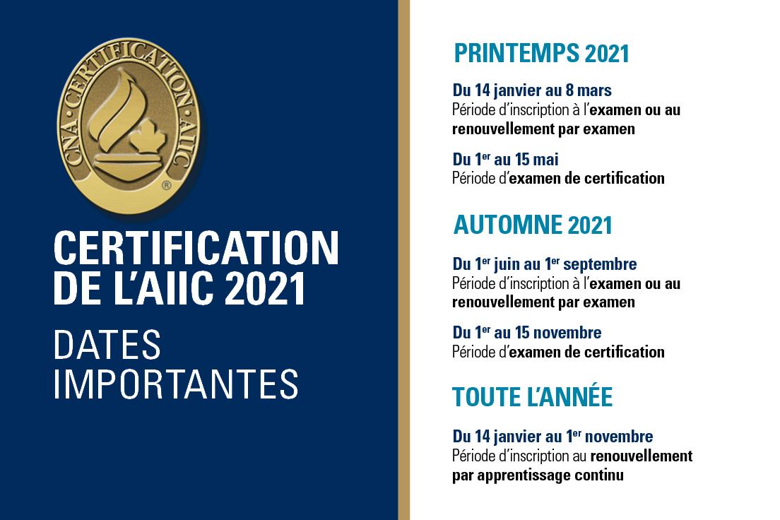 Voulez-vous obtenir votre certification de l'AIIC?   Inscrivez-vous à l'examen avant le 8 mars pour obtenir votre certification dans une spécialité infirmière ou la renouveler.   https://t.co/l6DqLZHaoS  #CNA2021 https://t.co/WqNihJ2iLd