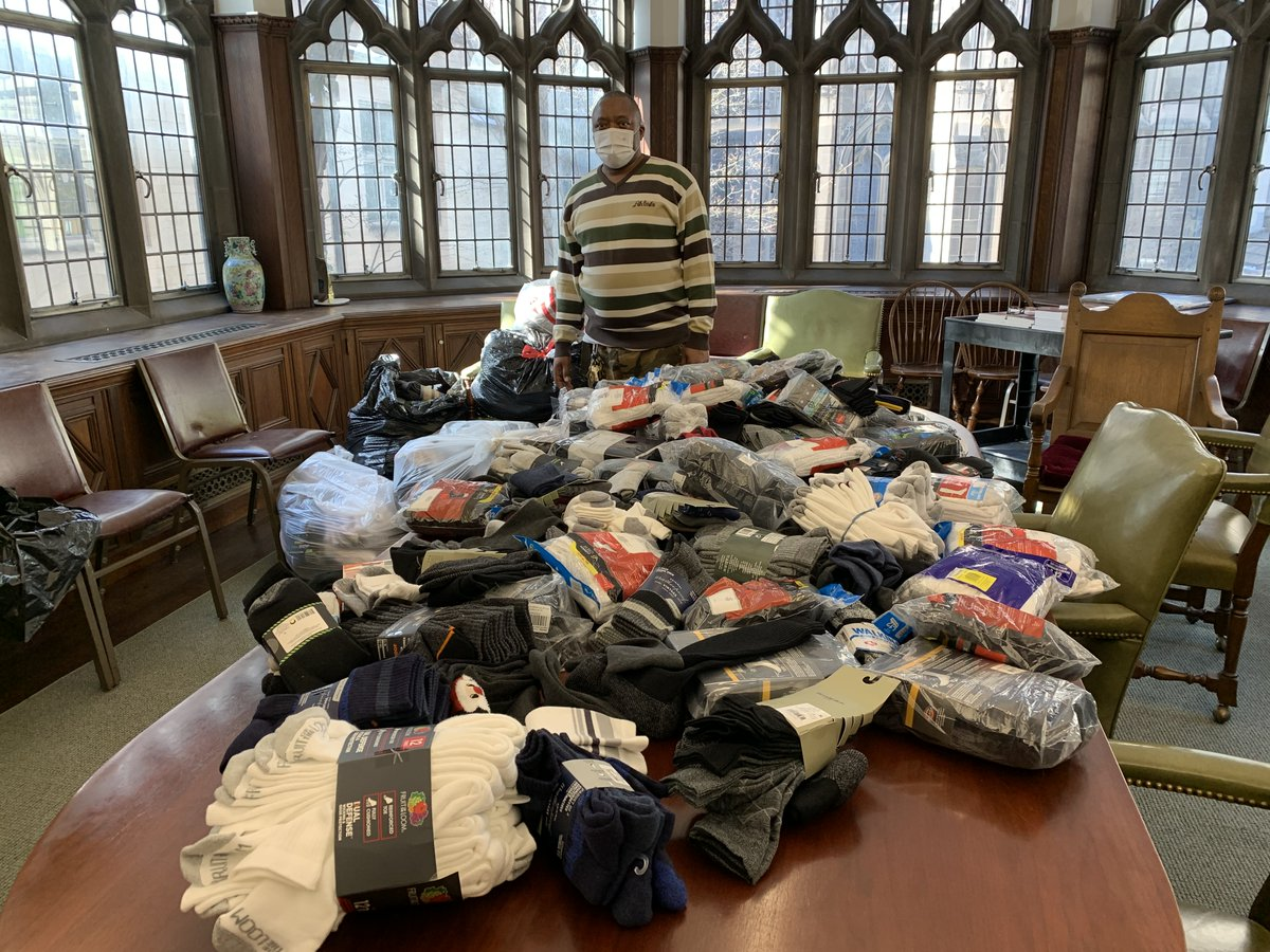 Thank you to everyone who supported our #MLK #DayOfService #SockDrive! Through your efforts, we were able to supply local shelters with 2,000+ pairs of socks!  #mlkdayofservice #sockcollection #churchfamily #faithfamily #churchcommunity #faithcommunity #missionwork #pcusa