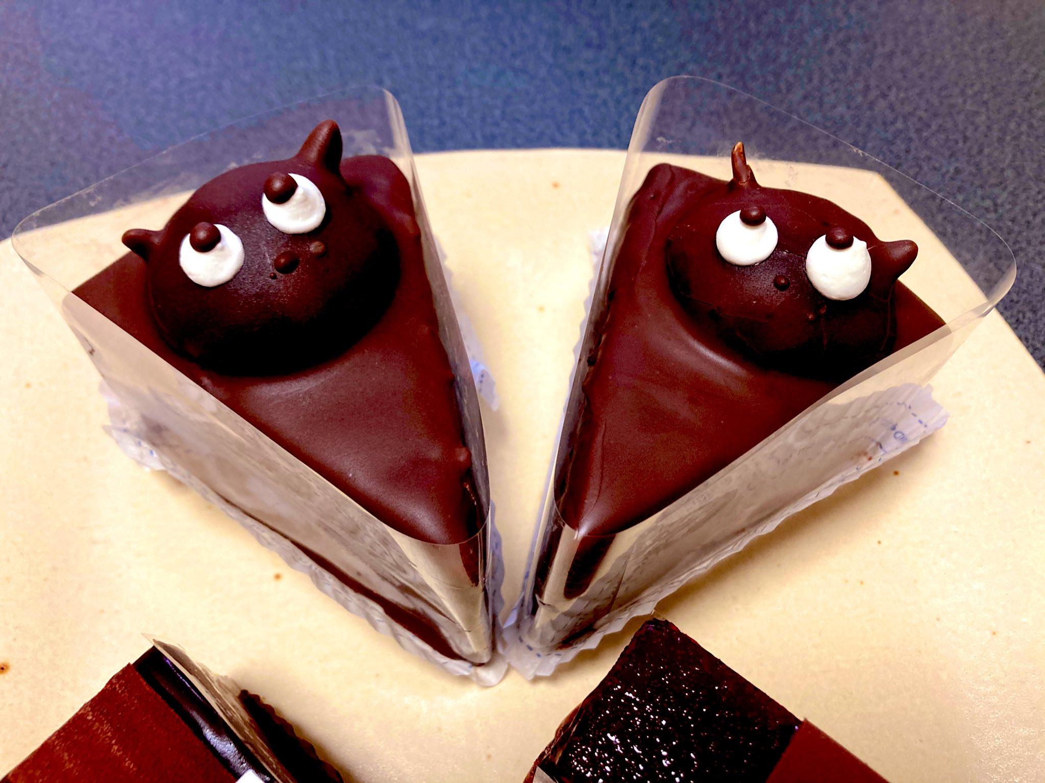 梅屋のたぬきケーキ