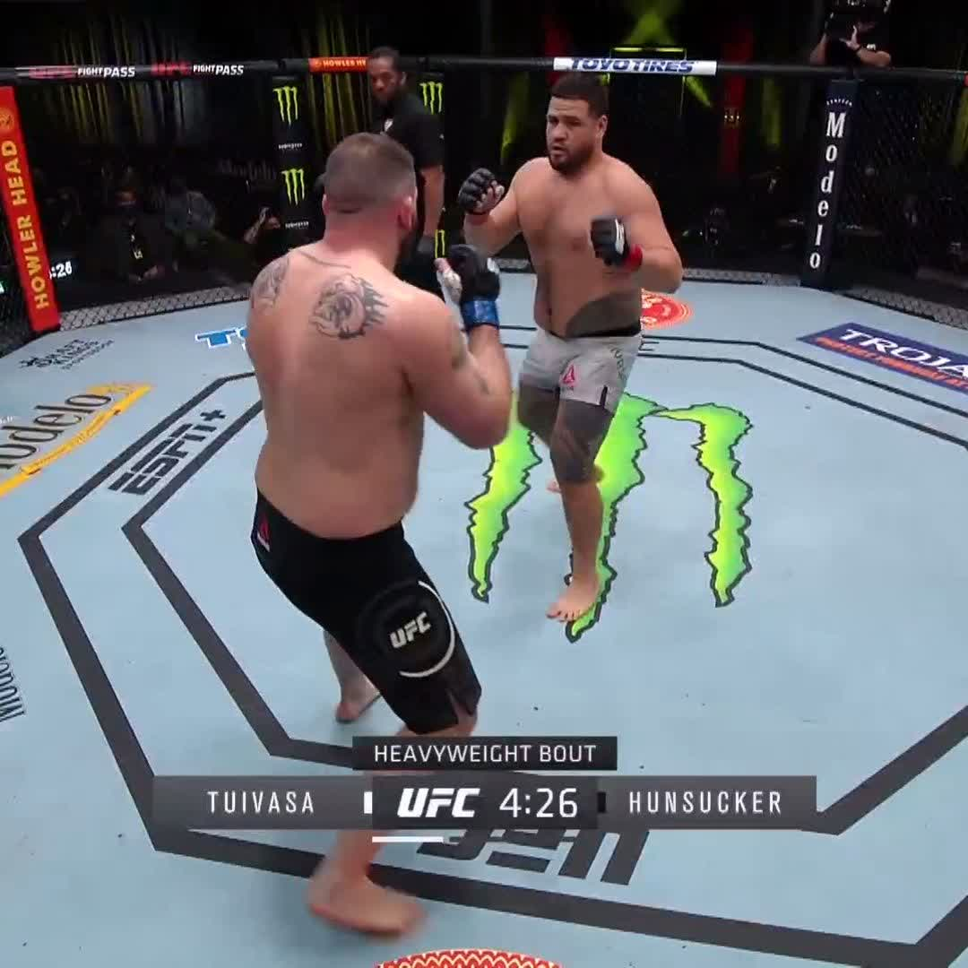 FIRST ROUND KNOCKOUT FOR BAM BAM! #UFCVegas22 https://t.co/FkgRLOHube