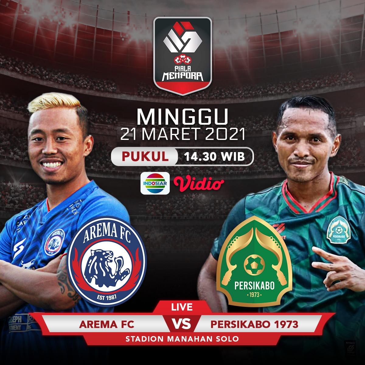 Sedang berlangsung Arema FC vs Tira-Persikabo