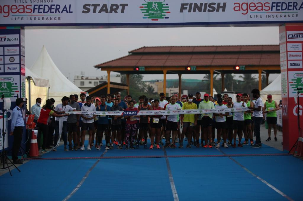 What a fantastic turnout! Congratulations to all the winners and participants of the @AgeasFederal Bengaluru 10K Challenge. For those who missed the live event, the virtual marathon registrations are still open! Register now: https://t.co/5CCCF91azc @sachin_rt #B10KC #NEBSports https://t.co/nQK5L2B6e3