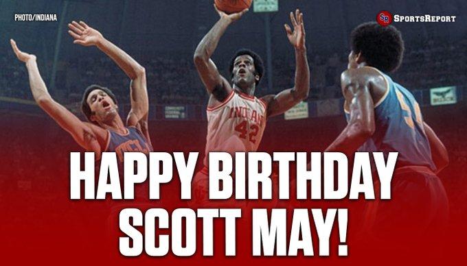 Fans, let\s wish Legend Scott May a Happy Birthday!