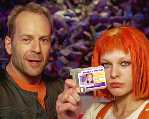 Happy Birthday to Bruce Willis aka Korben Dallas from The Fifth Element!