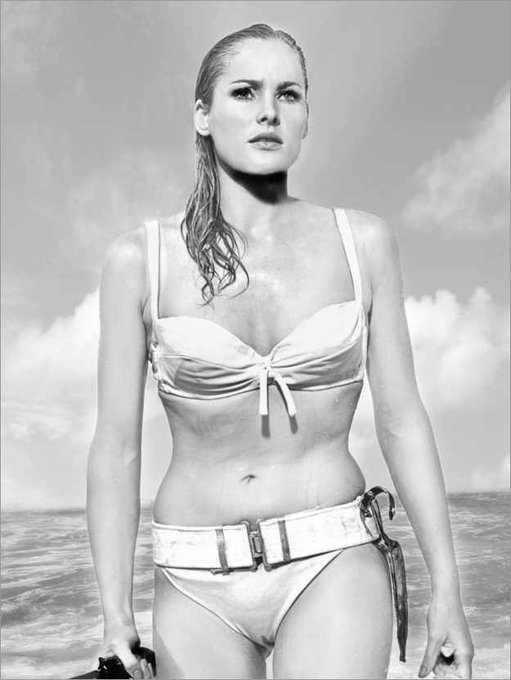 Happy birthday, Ursula Andress! The ultimate James Bond girl!