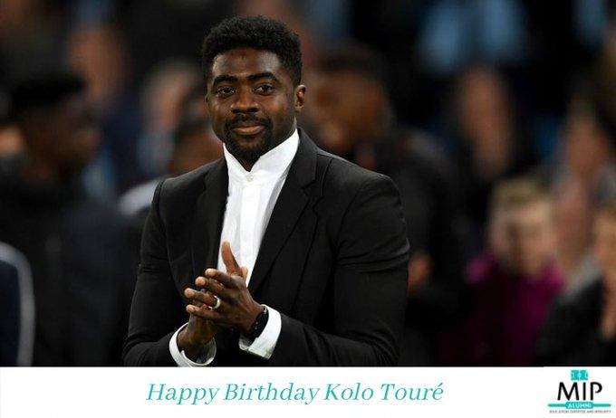 Happy Birthday to MIP Alumni Association Member Kolo Touré.