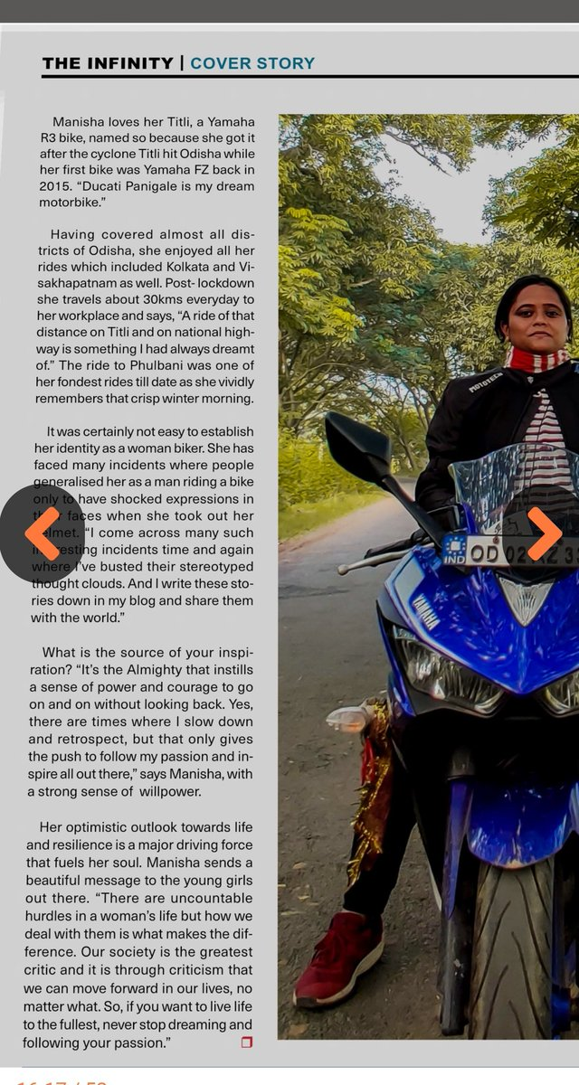 Happy to be on March issue of The Infinity e-magazine.  theinfinitymag.in/v-pdf.html   #internationalwomensday2021