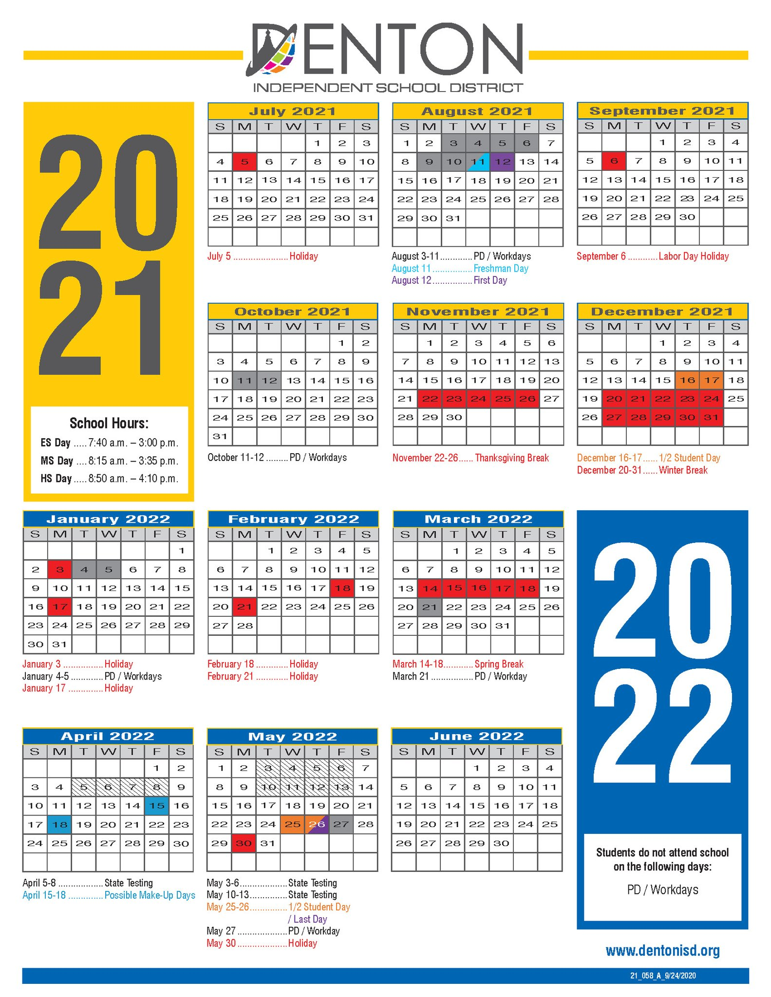 Denton Isd Calendar 2022.Denton Isd On Twitter The Calendar For The 2021 22 School Year Has Been Released Take A Look And Make Your Plans Accordingly It S Going To Be A Great Year Https T Co Tzhdwp7rtw Https T Co Adai05qj2k