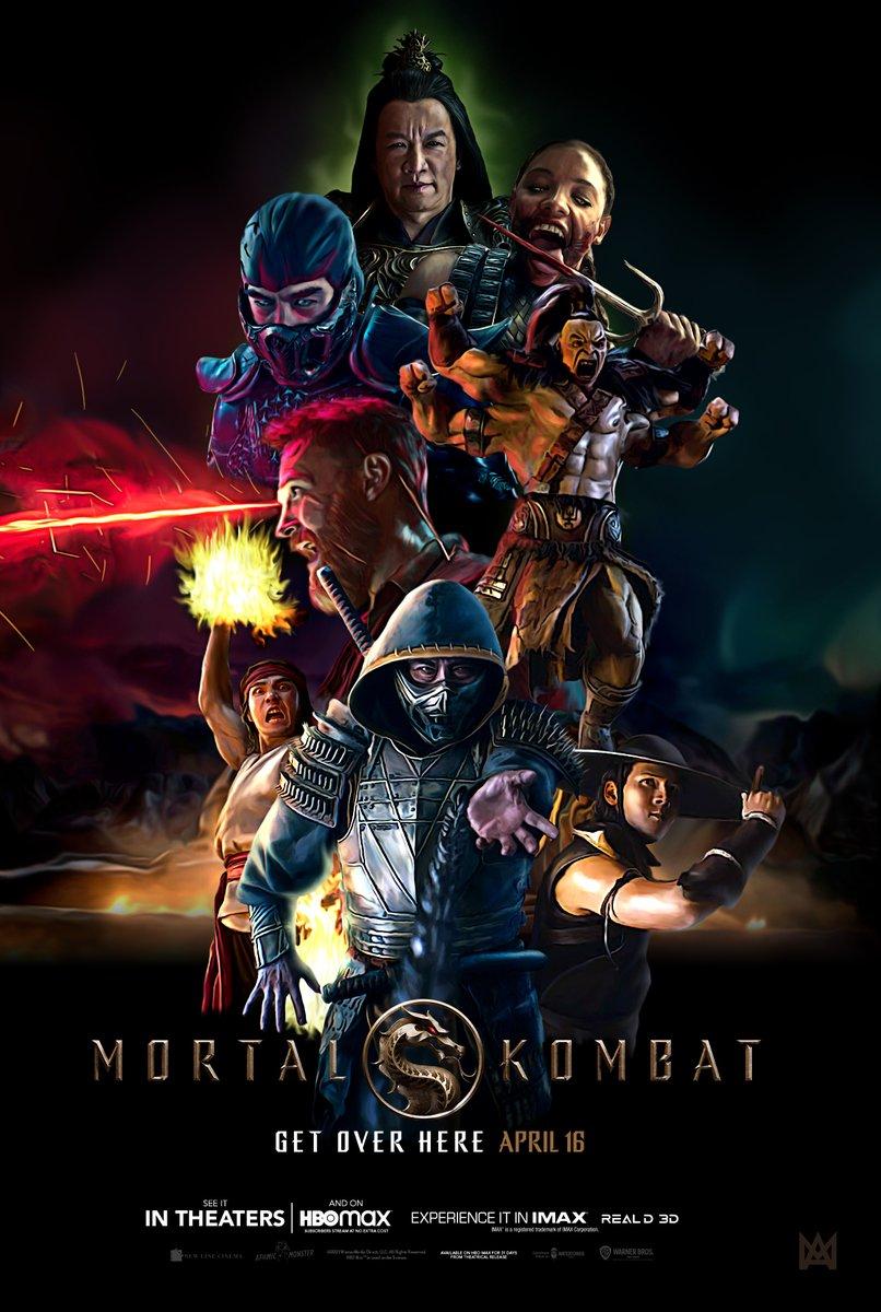 Mortal Kombat (2021) English Movie 480p HBOMAX HDRip 350MB Download