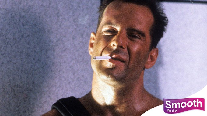 Happy 66th birthday, Bruce Willis! Here he is as John McClane in the 1988 blockbuster \Die Hard\.