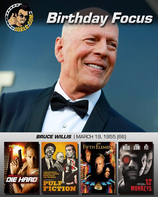 Wishing a very happy 66th birthday to Bruce Willis!