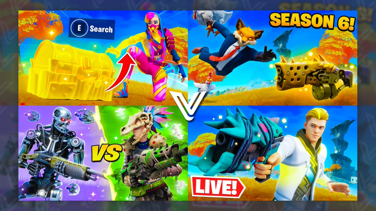 Some More Recent Season 6 Thumbnails ✍️  Lmk what you think 💜  DM if you are interested in buying a thumb! https://t.co/kIf43dd37V