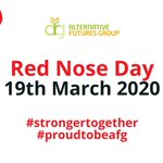 Image for the Tweet beginning: Red Nose Day is back