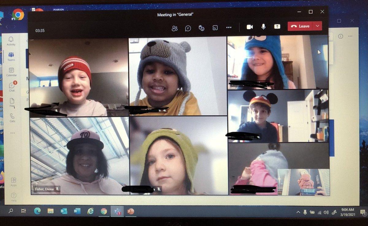 Hat Day at Glebe! PreK is rocking their hats! <a target='_blank' href='http://twitter.com/glebepta'>@glebepta</a> <a target='_blank' href='http://search.twitter.com/search?q=GlebeEagles'><a target='_blank' href='https://twitter.com/hashtag/GlebeEagles?src=hash'>#GlebeEagles</a></a> <a target='_blank' href='https://t.co/b7c7AA6dpW'>https://t.co/b7c7AA6dpW</a>