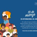 Image for the Tweet beginning: Feliz #DiaInternacionalDelHombre les desea Andigraf.