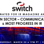 Image for the Tweet beginning: Switch is nominated for the